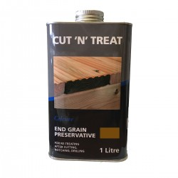 Cut 'N' Treat End Grain Preserative - Brown