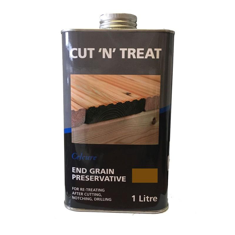 Cut 'N' Treat End Grain Preserative - Brown