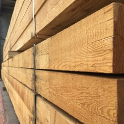 New Untreated Siberian Larch Sleepers (200 x 100 mm)