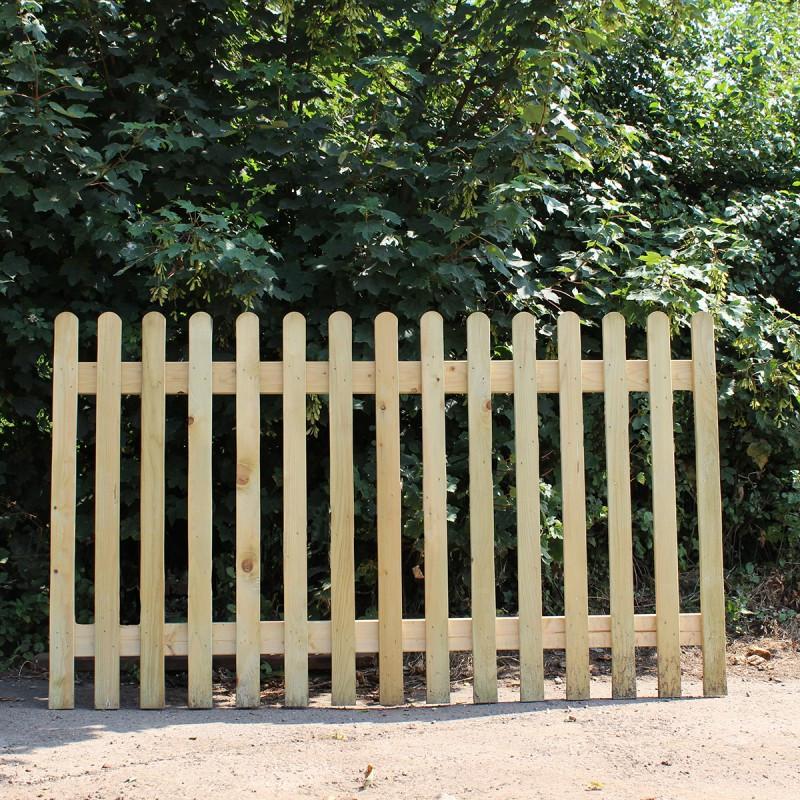 New Oak Picket Panel