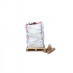 Bulk Bag of Ecofire Mechanically Pressed Briquettes - FREE