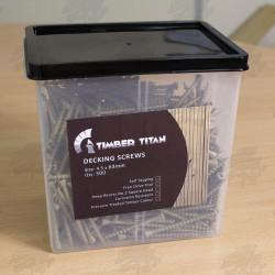 Timber Titan Advanced Protection Decking Screws 63mm