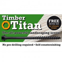 Timber Titan Landscaping Screws - 250mm